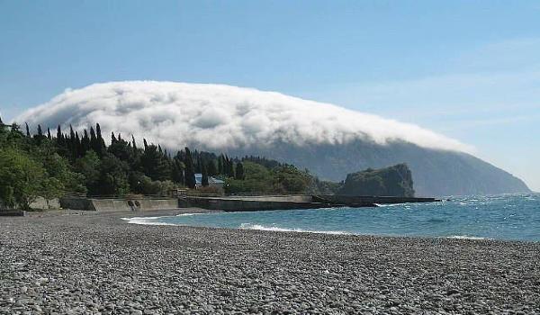 Аю-Даг в тумане
