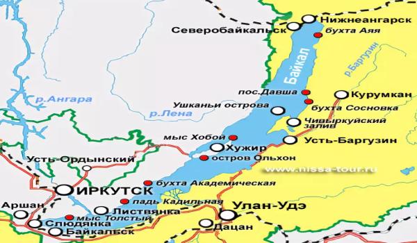 Карта населенных пунктовгде