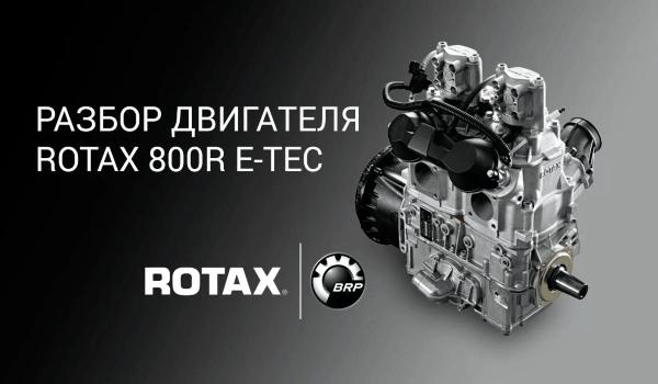 Двигатель BRP 800