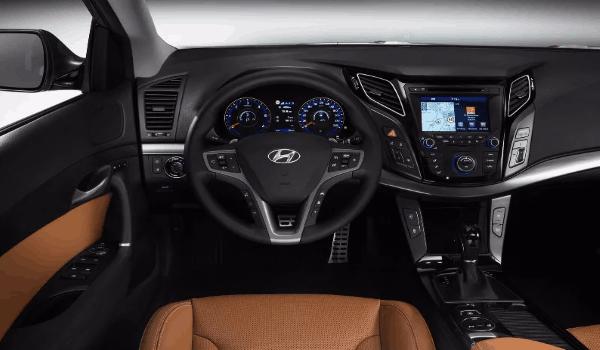 Hyundai i40 салон