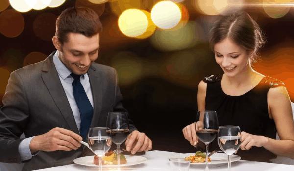 Вечер для двоих на день Святого Валентина