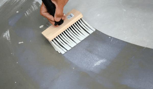 Грунтование бетона