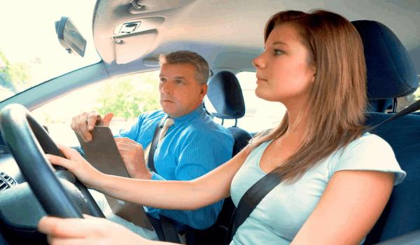 Вождение с инструктором