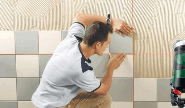 Как правильно класть плитку в туалете